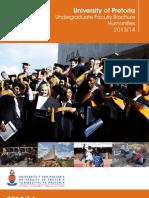 Humanities Brochure