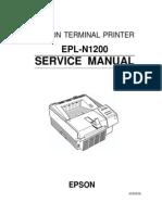 Epson EPL-N1200 Service Manual