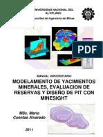 Manual Modelamiento MineSight