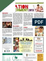 Education & Enrichment 2013 - SCT