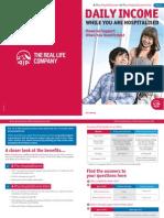 A-Plus HospitalIncome and HospitalIncome Extra Brochure 201306 v2