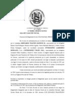 Sentencia Gammiero Murgano y Tolon 10-05-2004