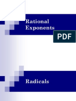 1.8 Rational Exponents and Radicals