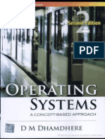 Operating Systems - A Concept-Based Approach by Dhamdhere.D.M