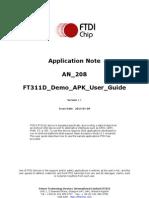 An 208 Ft311d Demo Apk User Guide
