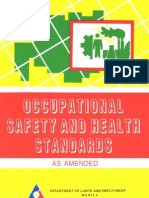 Occupational Safety and Health Standards