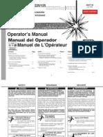 Lincoln AC 225 & AC/DC 225/125 Operators Manual