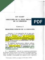 Ley Sistema Penitenciario Argentino 24660