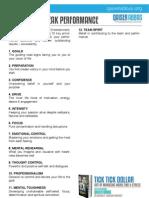 12 Steps to Peak Performance