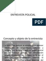 Entrevista Policial