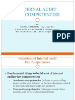 Chapter 13-Internal Audit Key Competencies