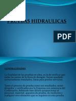 Pruebas Hidraulicas
