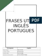 FRASES UTEIS INGLÊS PORTUGUES