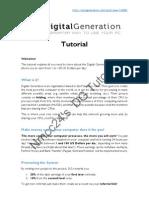 Digital Generation Tutorial v1.0