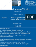 Cap7clausiusrankine Termomagistral II2011 Agomez
