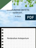Kedaruratan Obstetri