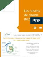 Les Bonnes Raisons de Choisir INES CRM 2