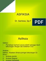C. Asfiksia
