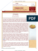 El banquete - Julio Ramón Ribeyro - Ciudad Seva