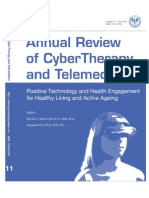 Annual Review of CyberTherapy and Telemedicine, Volume 11, Summer 2013