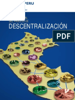 Informe Anual Del Proceso de Descentralizacion 2012