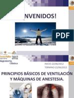 Ventilacixn y Anestesia
