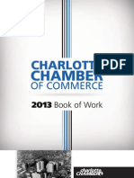 Charlotte Chamber 2013 Book of Work