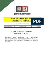 PDDU Benito Juarez