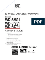 Mitsubishi HDTV Manual.pdf