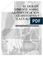Vasco Deabte Cuantitativo vs Cualitativo