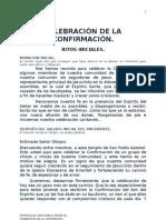 CELEBRACIÓN DE LA CONFIRMACIÓN