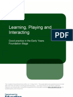 Learning Playing and Interacting_Good Practice in the EYFS