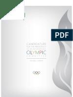 IOC presidency, election manifesto, Richard Carrión (Puerto Rico)