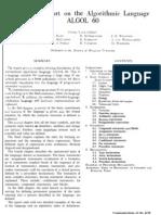 Revised Report on the Algorithmic Language (ALGOL 60) - Peter Naur (Editor)