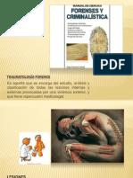 TRAUMATOLOGÍA FORENCE EXPO