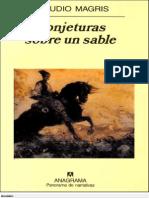 Magris Claudio - Conjeturas Sobre Un Sable