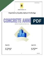 Concrete Annexure