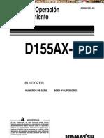 Manual Operacion Mantenimiento Bulldozer d155ax 6 Komatsu