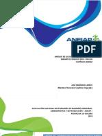 Analisis Distribucion de Trabajo en ANEIAP
