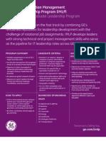 2011 IMLP Fact Sheet
