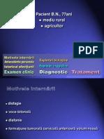 Caz 17 Limfangiom Chistic Cervical