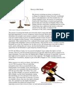 History of Bail Bonds