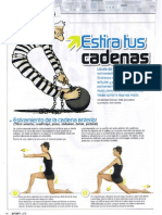 Estiramientos Cadenas Musculares