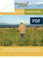 Finishing Organic Beef - Producer Guide