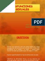 Exposición Disfunciones Sexuales