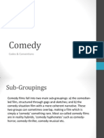 Comedy Codes & Conventions