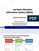EBEIS Overview & General Workflow Process