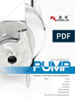 KingLai Pump Catalogue 2009 10