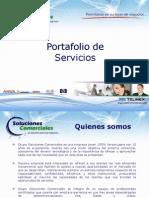 Grupo Soluciones Comerciales Portafolio de Servicios