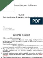 3 & 4.Synchronization & Models of Memory Consistency (1)